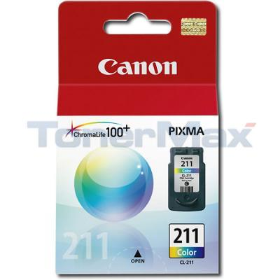 CANON CL-211 INKJET CART COLOR